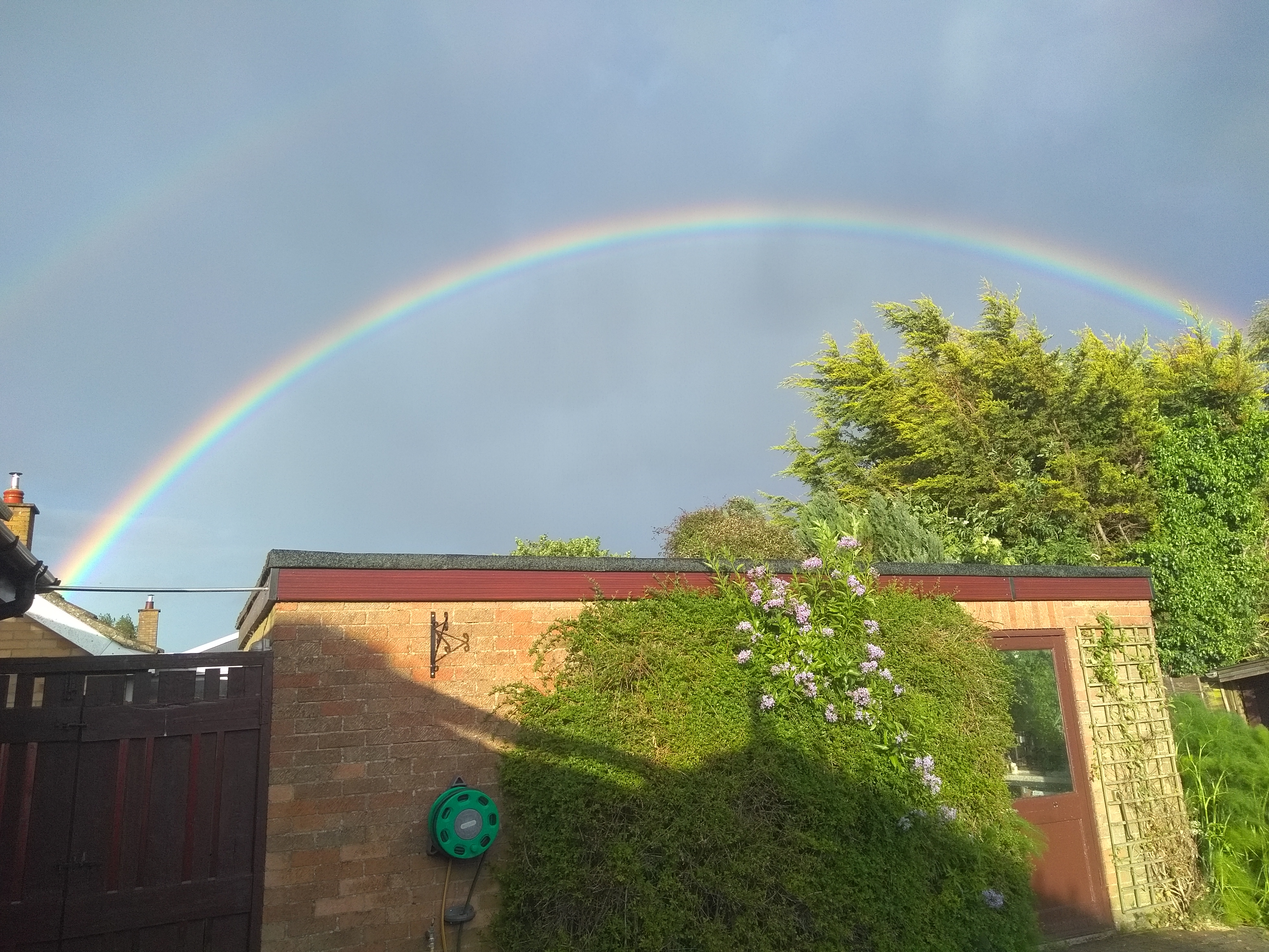 Rainbow over Ringshall